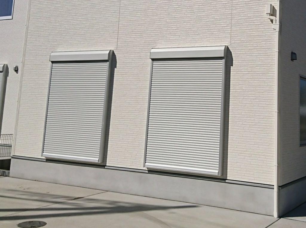 新築オプション工事シャッター